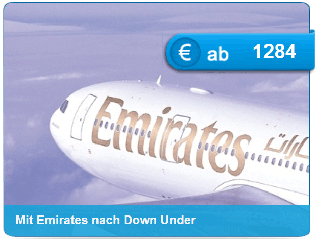 Emirates Flugangebot
